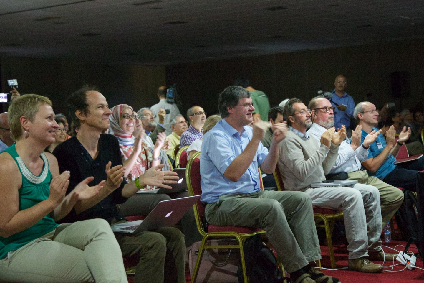 ATLAS,Nobel,Peter Higgs,Francois Englert,ATLAS week,Marrakech,2013,Collaborations,Portraits,Meetings & Seminars