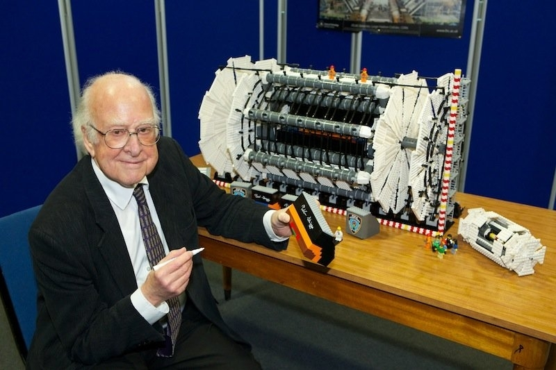 ATLAS,LEGO model,Detector,Autograph,Peter Higgs,Outreach,Collaboration