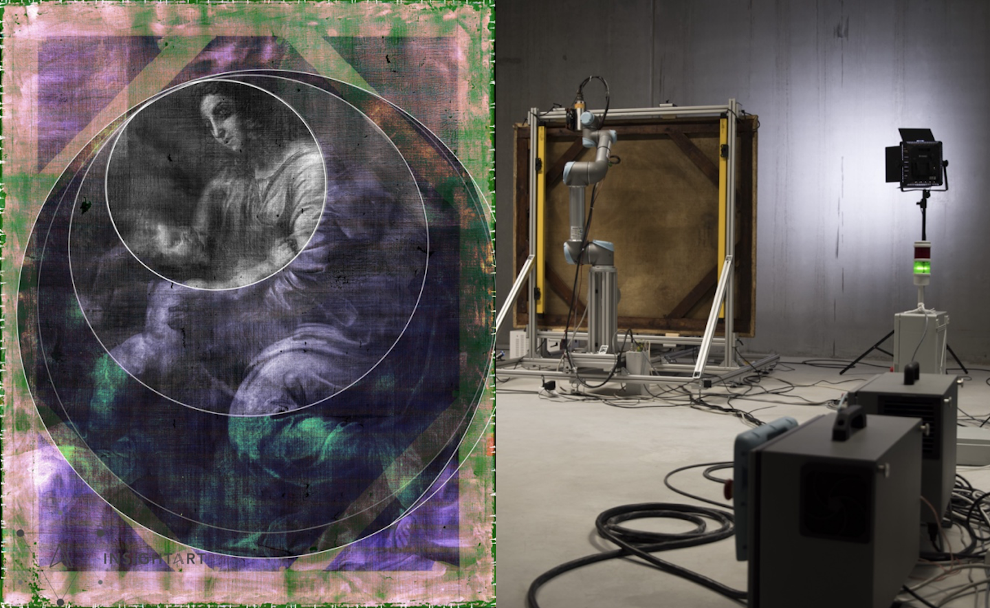 CERN technology helps rediscover lost painting by Raphael
