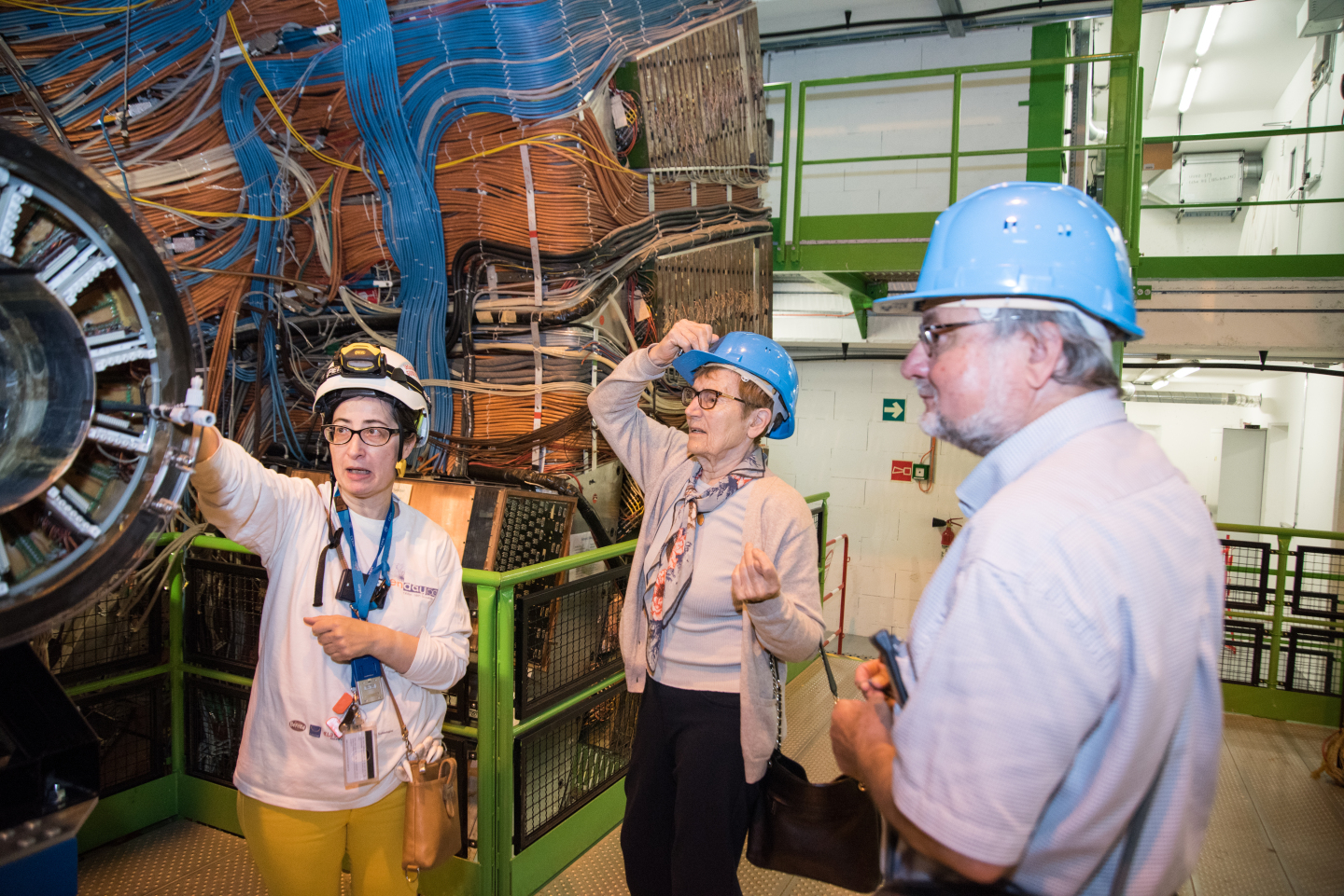 VIP visit,Marie Curie,Personalities and History of CERN