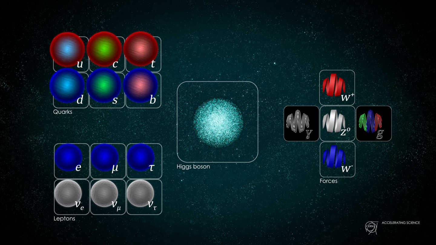 Standard Model,Higgs boson,Diagrams and Charts