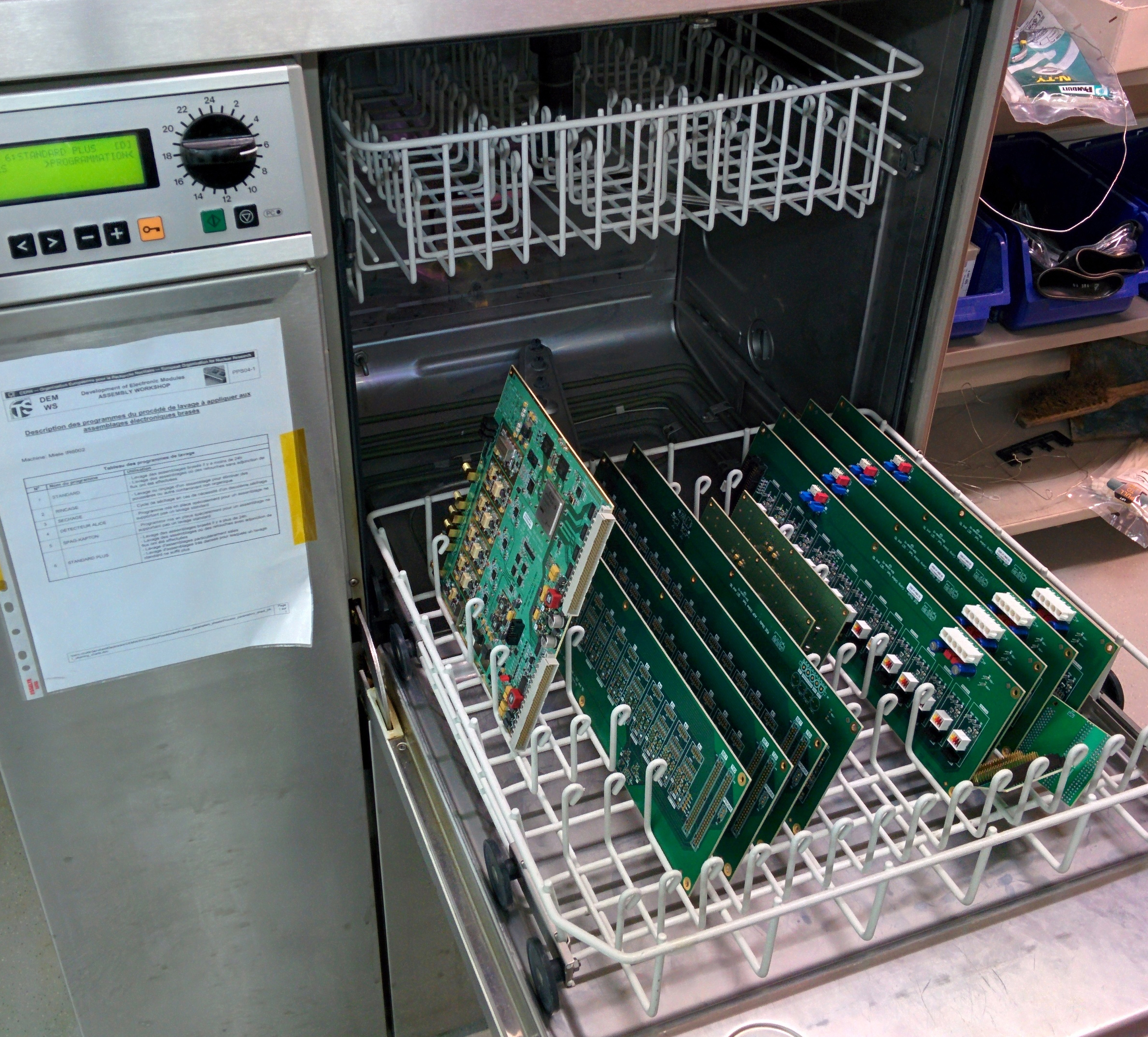 A Dishwasher For Circuits Cern Bulletin Circuit You