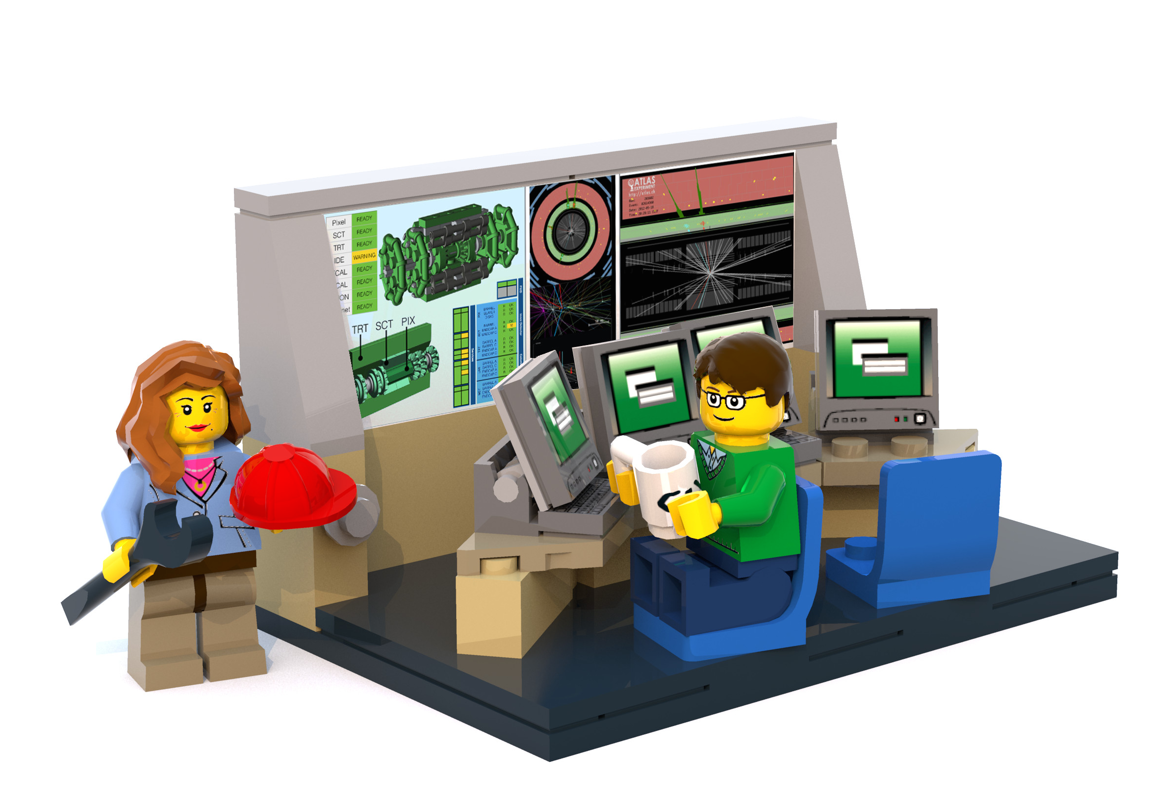 Calling all LEGO lovers! Add a mini control room to your collection ...