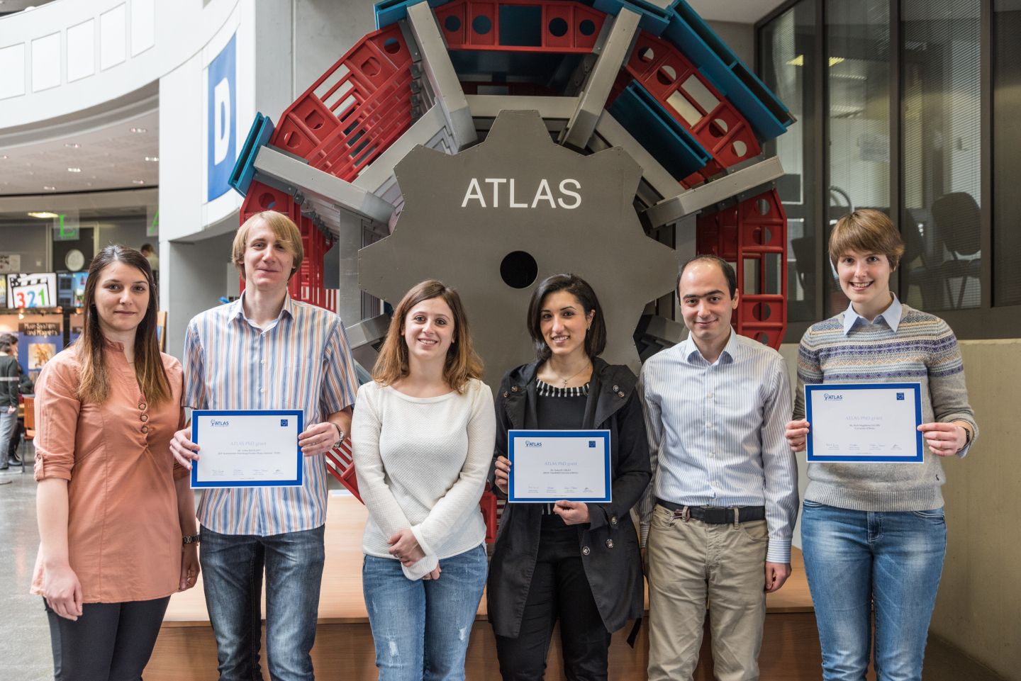 ATLAS PhD Grant 2015