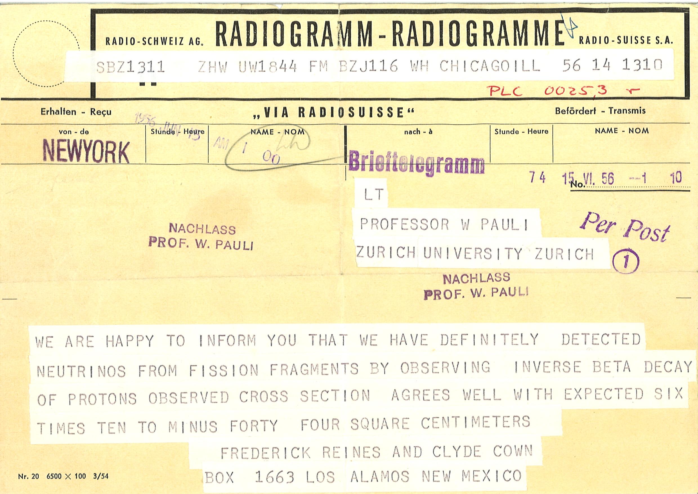 Wolfgang Pauli 1900 1958 Biography Cern Scientific Information