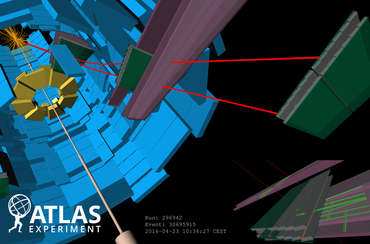 ATLAS,restartLHC,13 TeV,LHC run2,event,Real Events,For Press