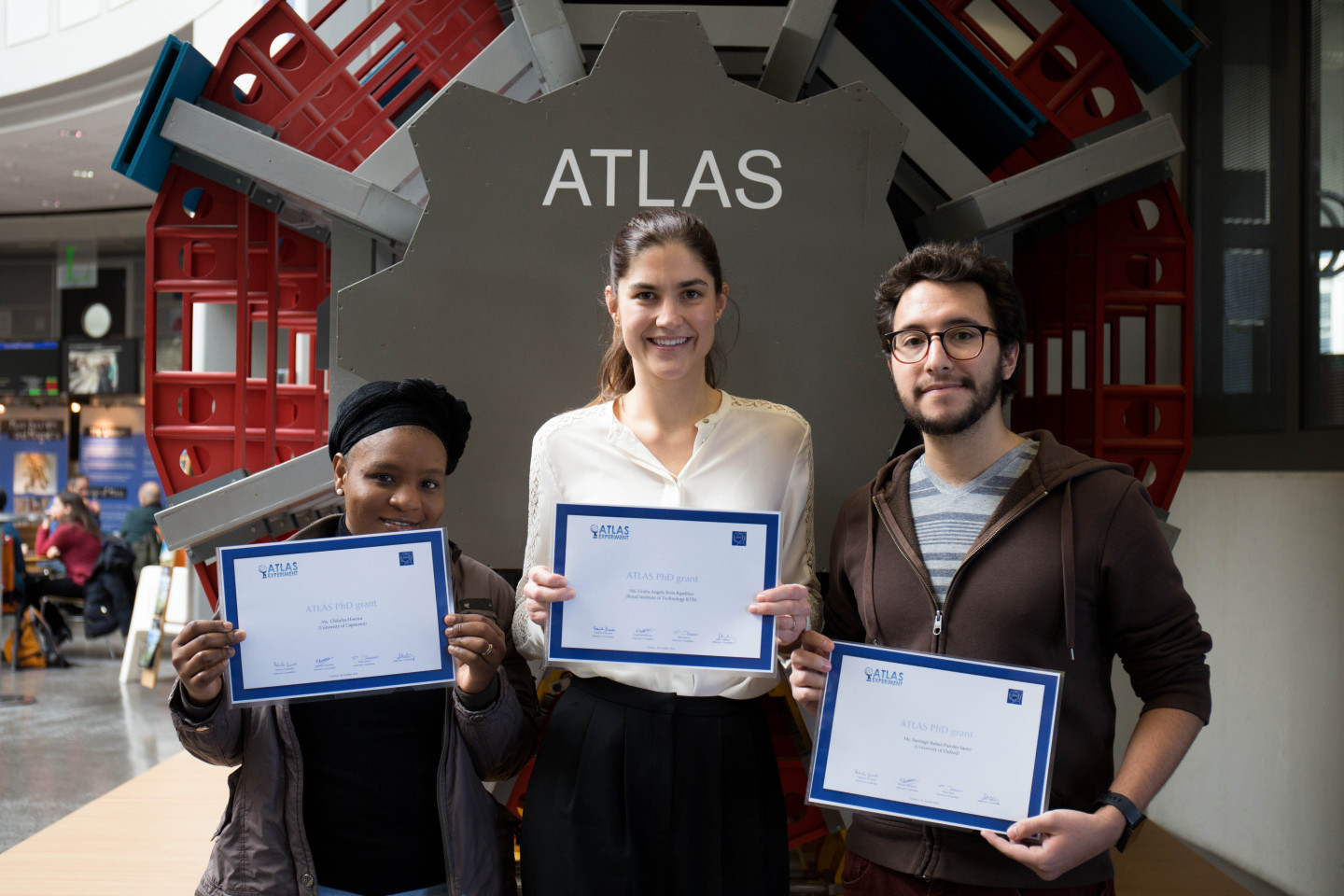 ATLAS,Collaboration,Awards,students,PhD