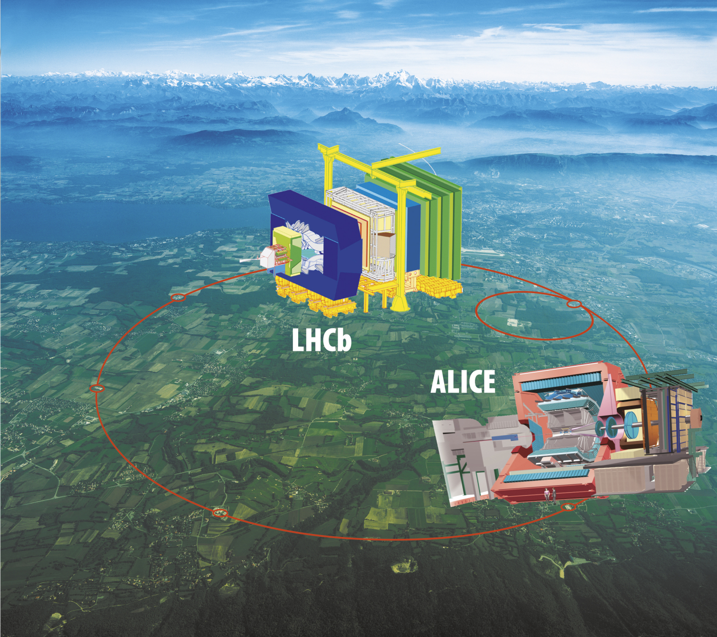 LHC experiments: ALICE and LHCb