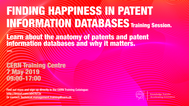 Finding Happiness in Patent Information Databases
