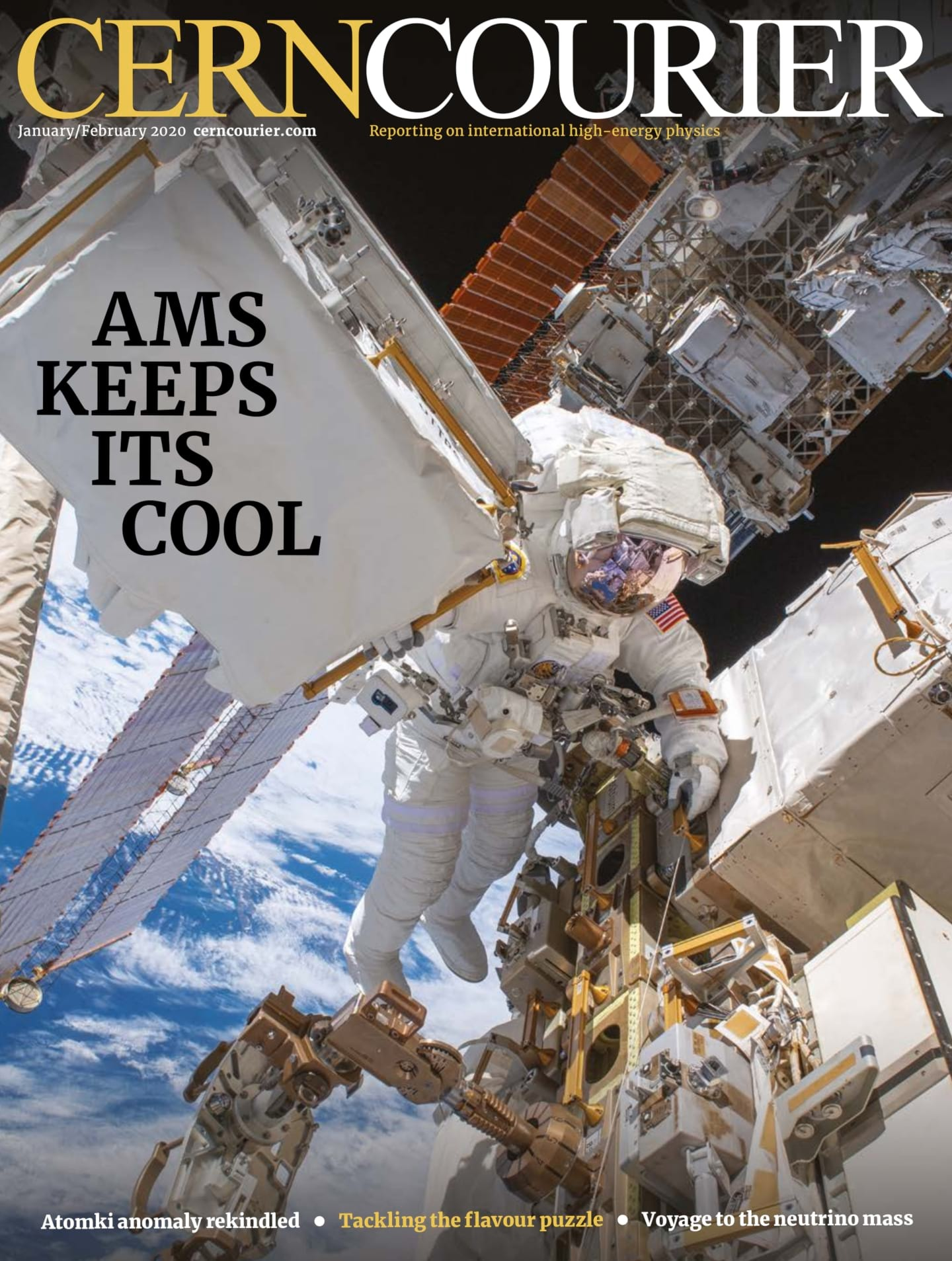 NASA astronaut Drew Morgan performing a spacewalk on the ISS