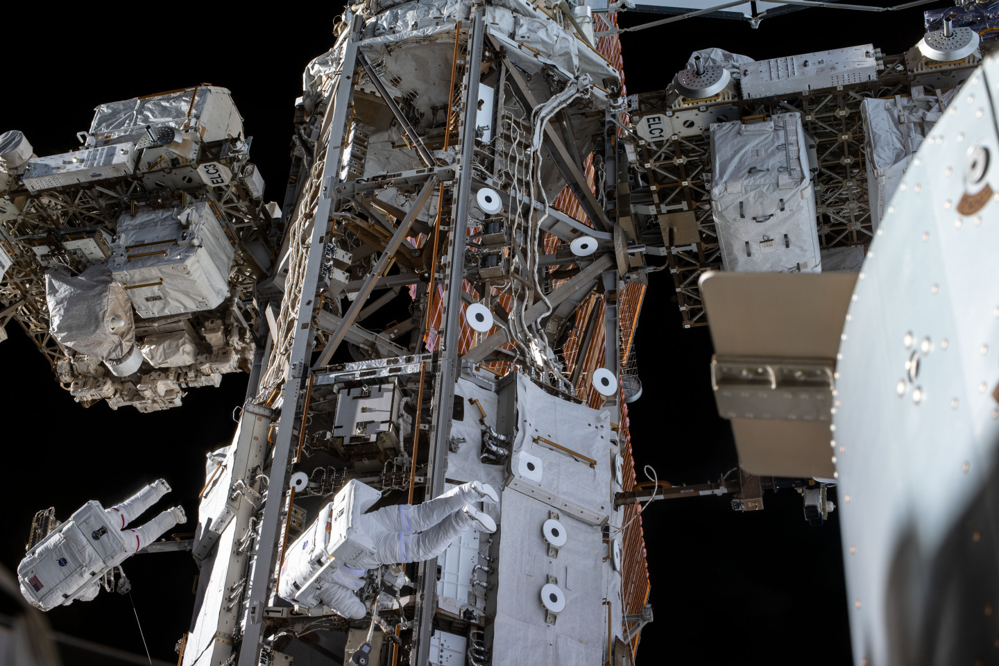 Spacewalk to repair the AMS detector on the International space station