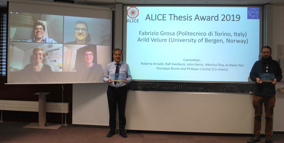 ALICE thesis award laureates