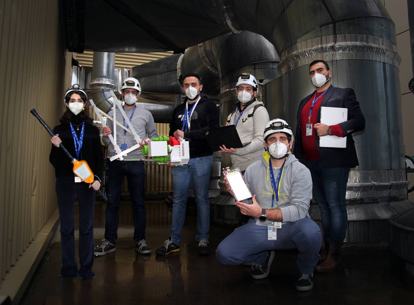Young Lebanese scientists at CERN