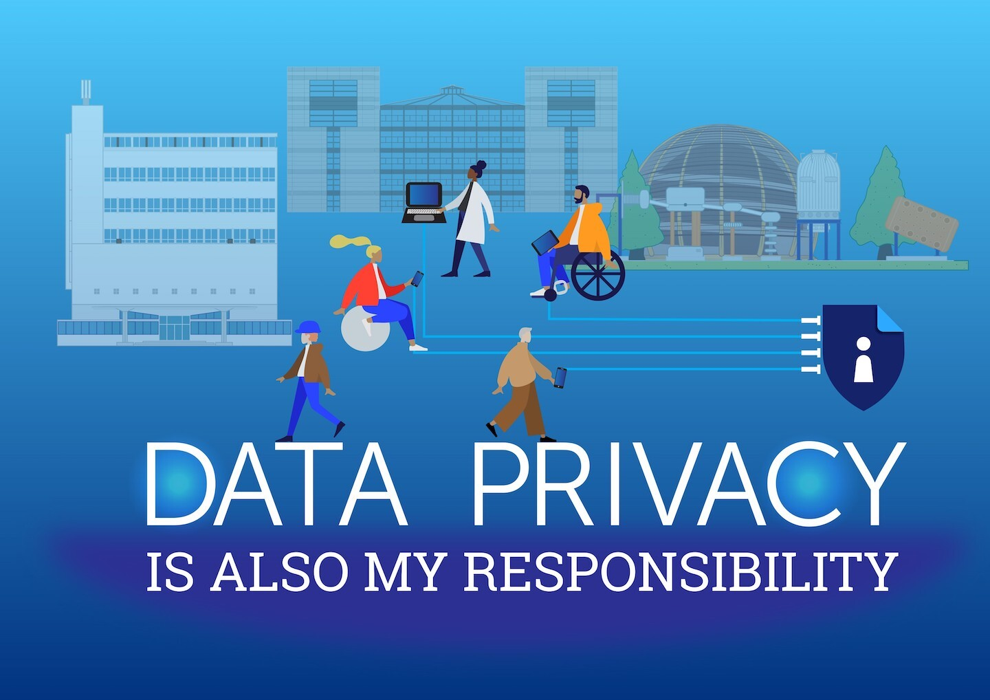 CERN marked Data Protection Day with ESA and ESO