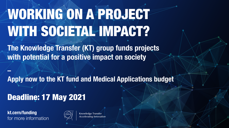 Faites une demande de financement sur le Fonds KT et sur le budget destiné aux applications médicales