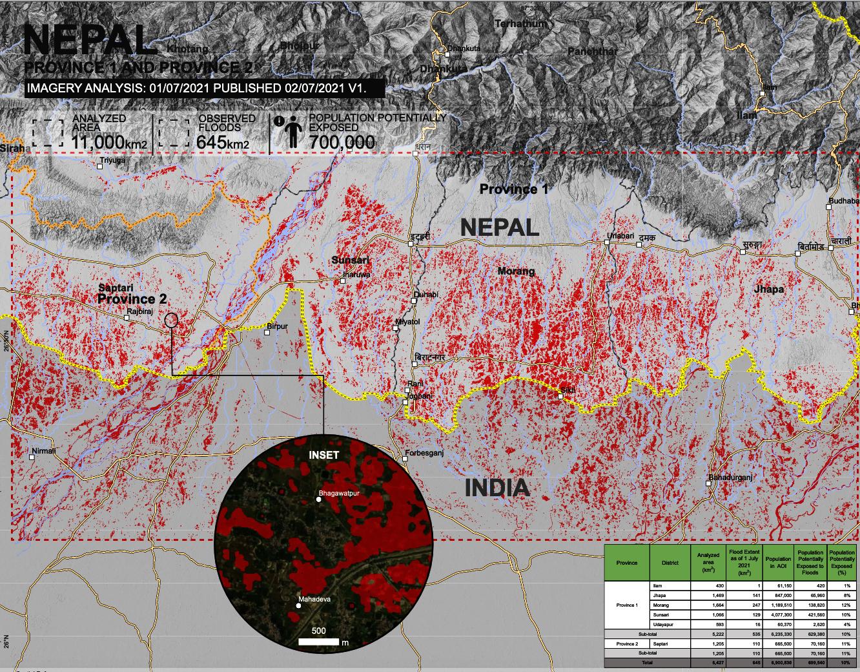 UNOSAT au CERN : la cartographie satellitaire au service de l'humanité