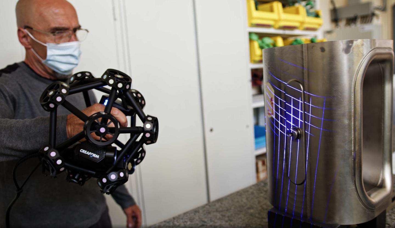 Un scanneur à laser 3D bouscule l'inspection des pièces au CERN