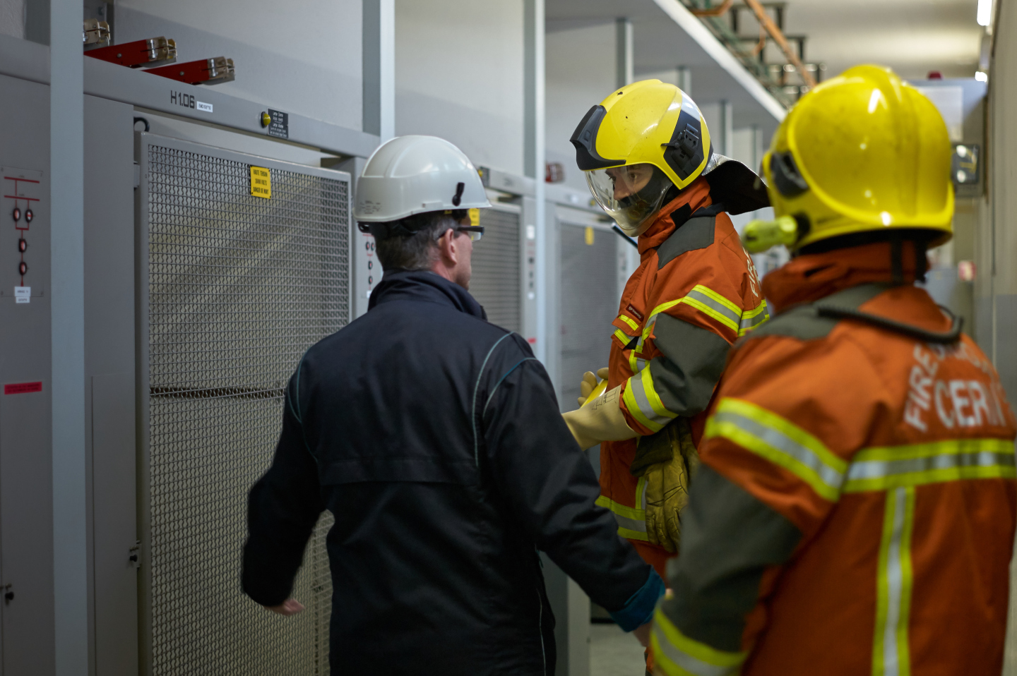 Safety Training Course: Electrical Authorisation - Firefighters