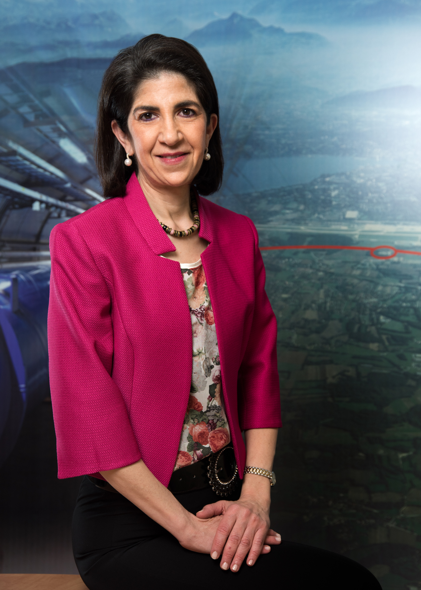 Portrait of Dr. Fabiola Gianotti - Incoming CERN Director General - December 2015