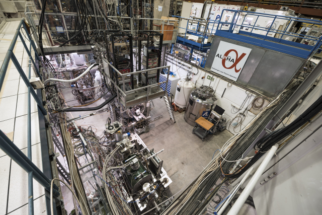 ALPHA cools antimatter using laser light for the first time
