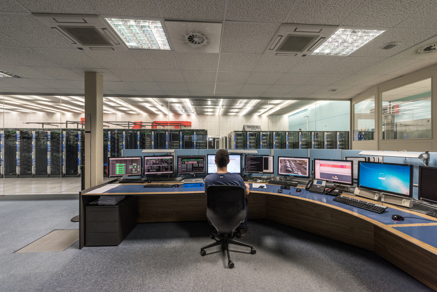 data centre,Computers and Control Rooms