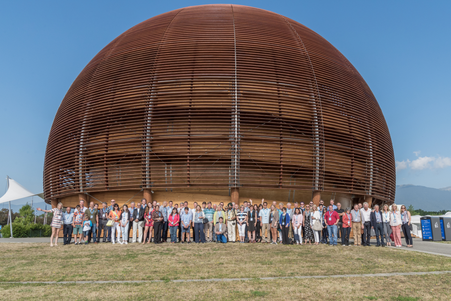 VIP visit,Personalities and History of CERN