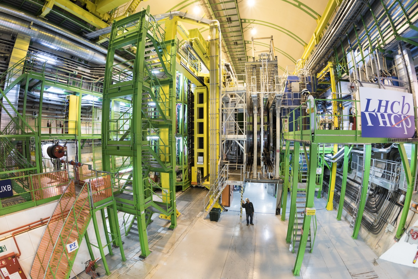 LHCb experiment cavern at LHC- IP 8
