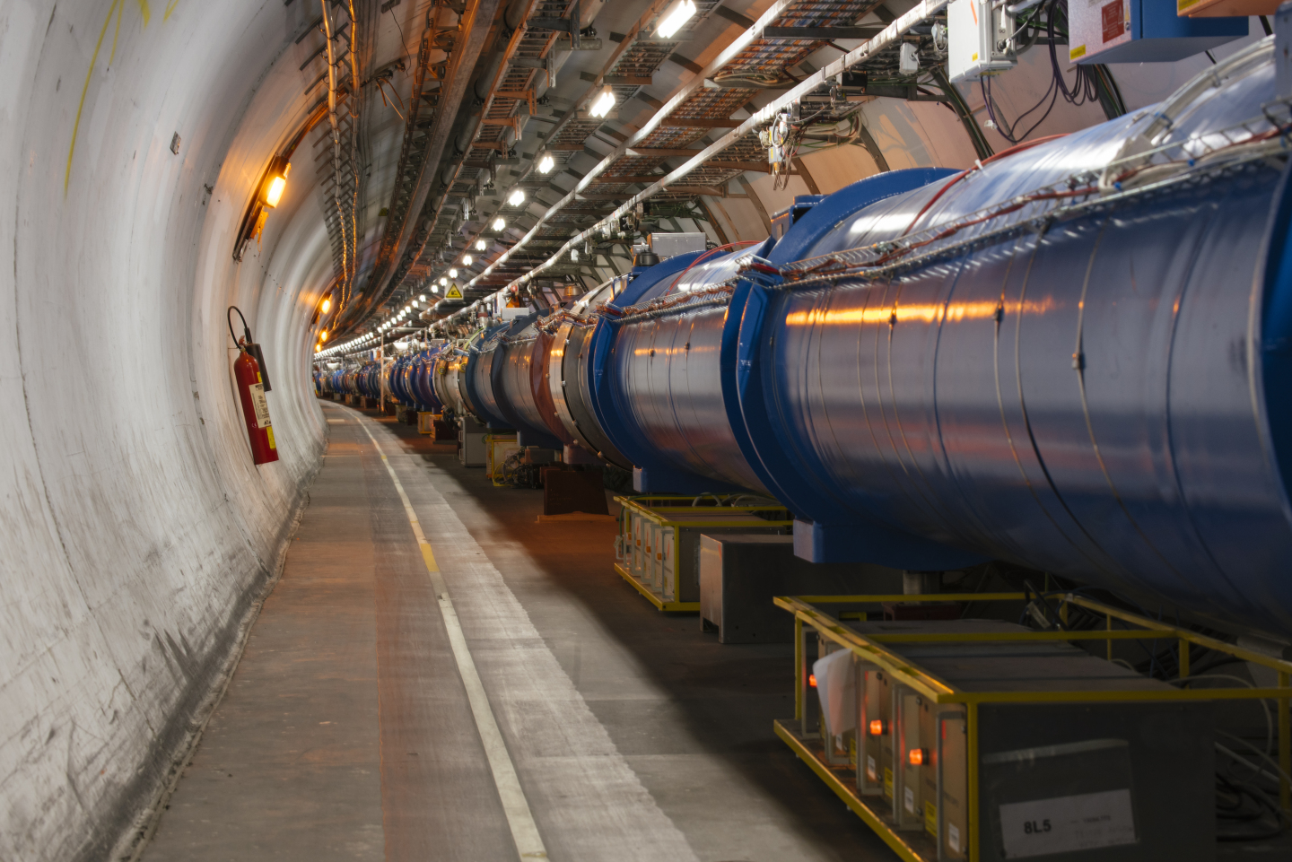 LHC tunnel sector 4-5/ 5-6