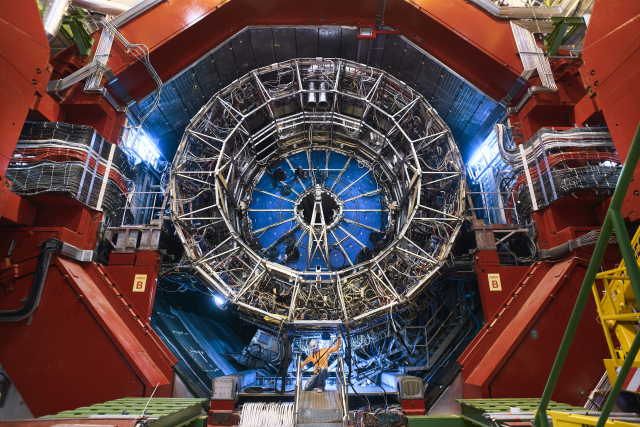 ALICE empty structure after modules removal, during LS2