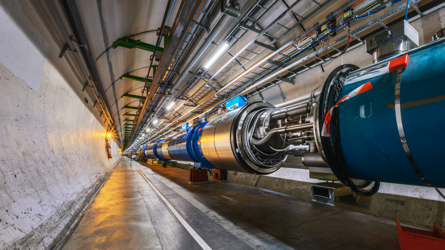 LHC tunnel Pictures during LS2