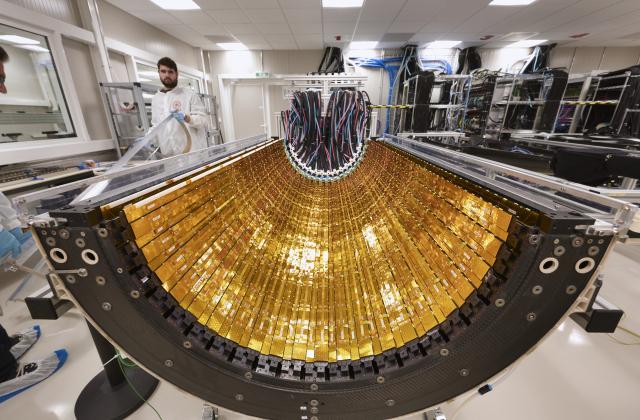 ALICE ITS detector upgrade - Building 167