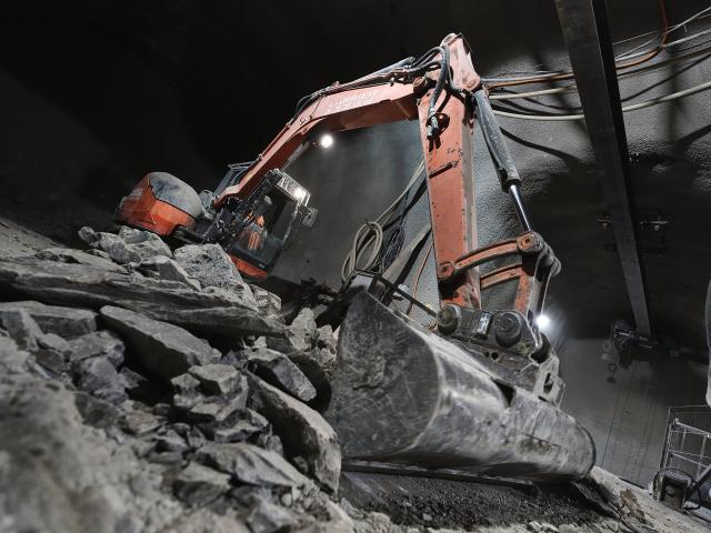HL-LHC Underground civil engineering galleries progress