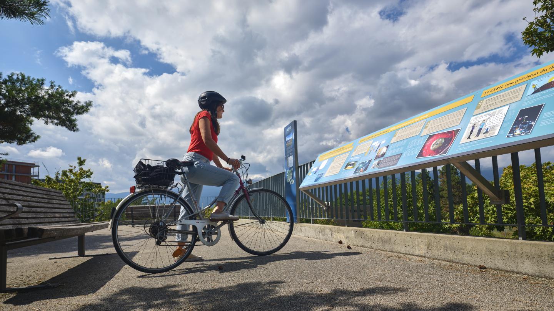 Un tour d'accélérateur à vélo ?