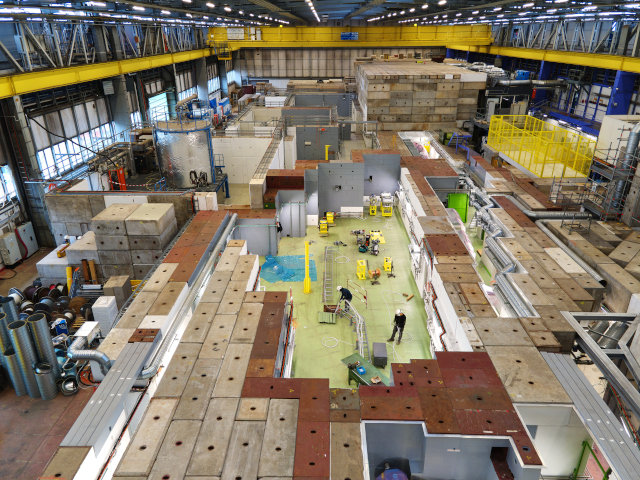 LS2 Report: Getting ready for the future of physics in the East Area