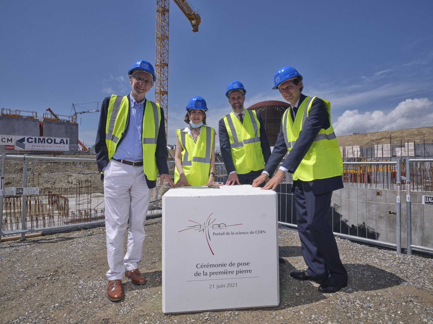 First Stone Ceremony for Science Gateway