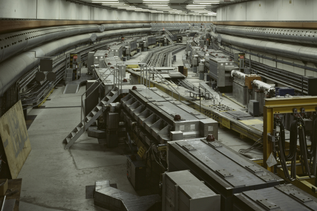 Looking back on 50 years of hadron colliders