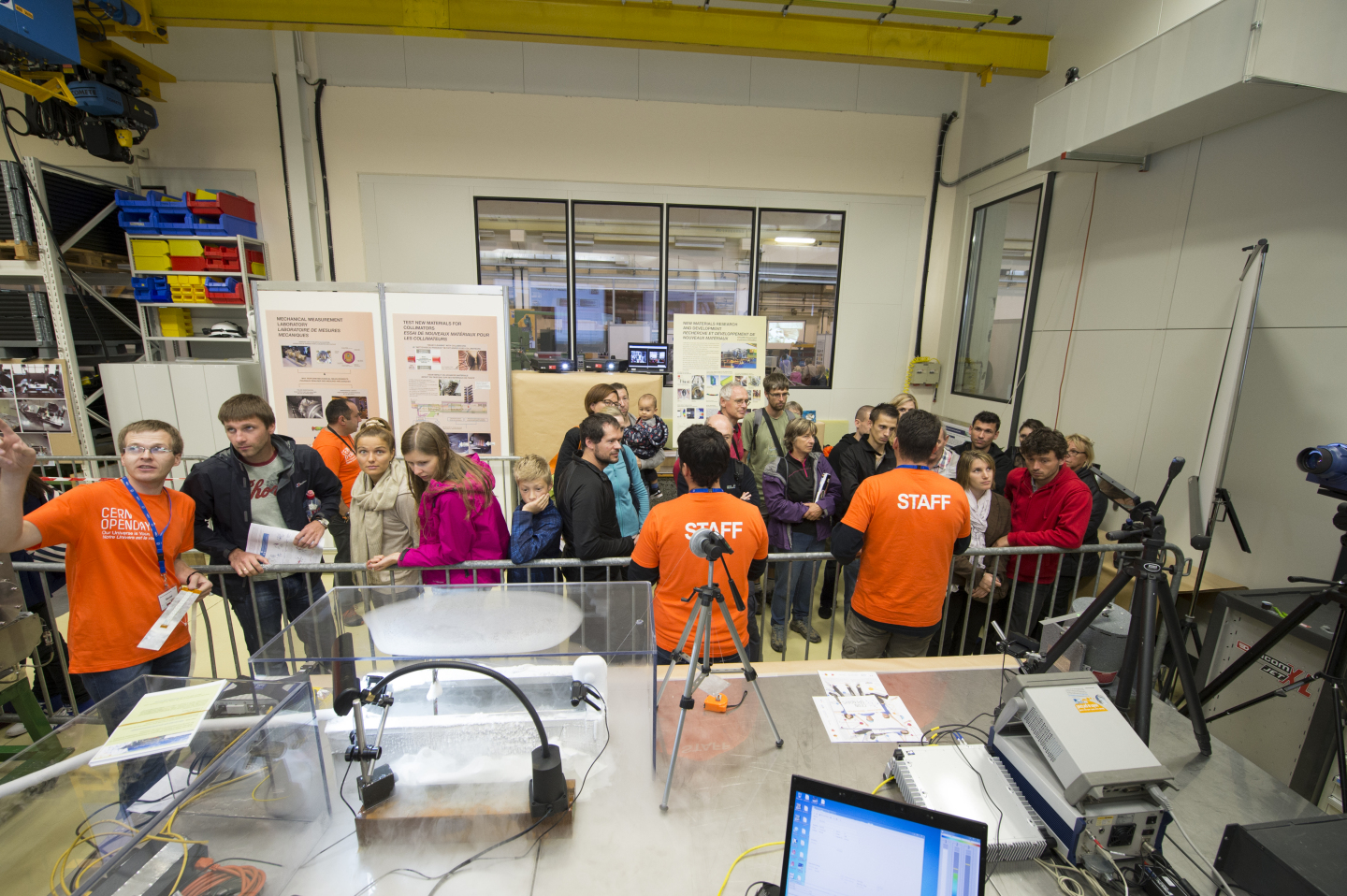 CERN Open Days 2013, Meyrin Campus, ZONE B