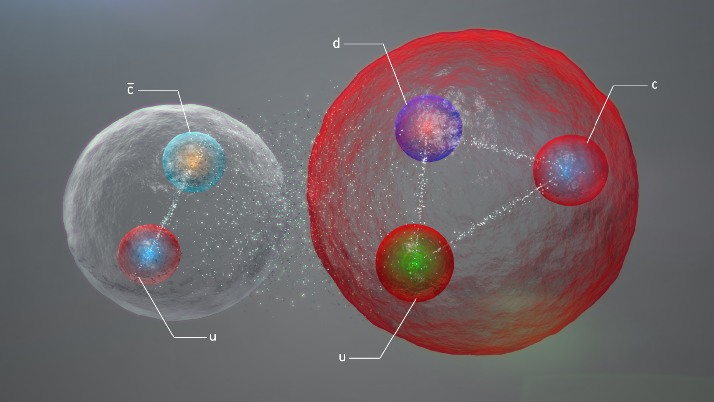 LHCb experiment reports observation of exotic pentaquark particles