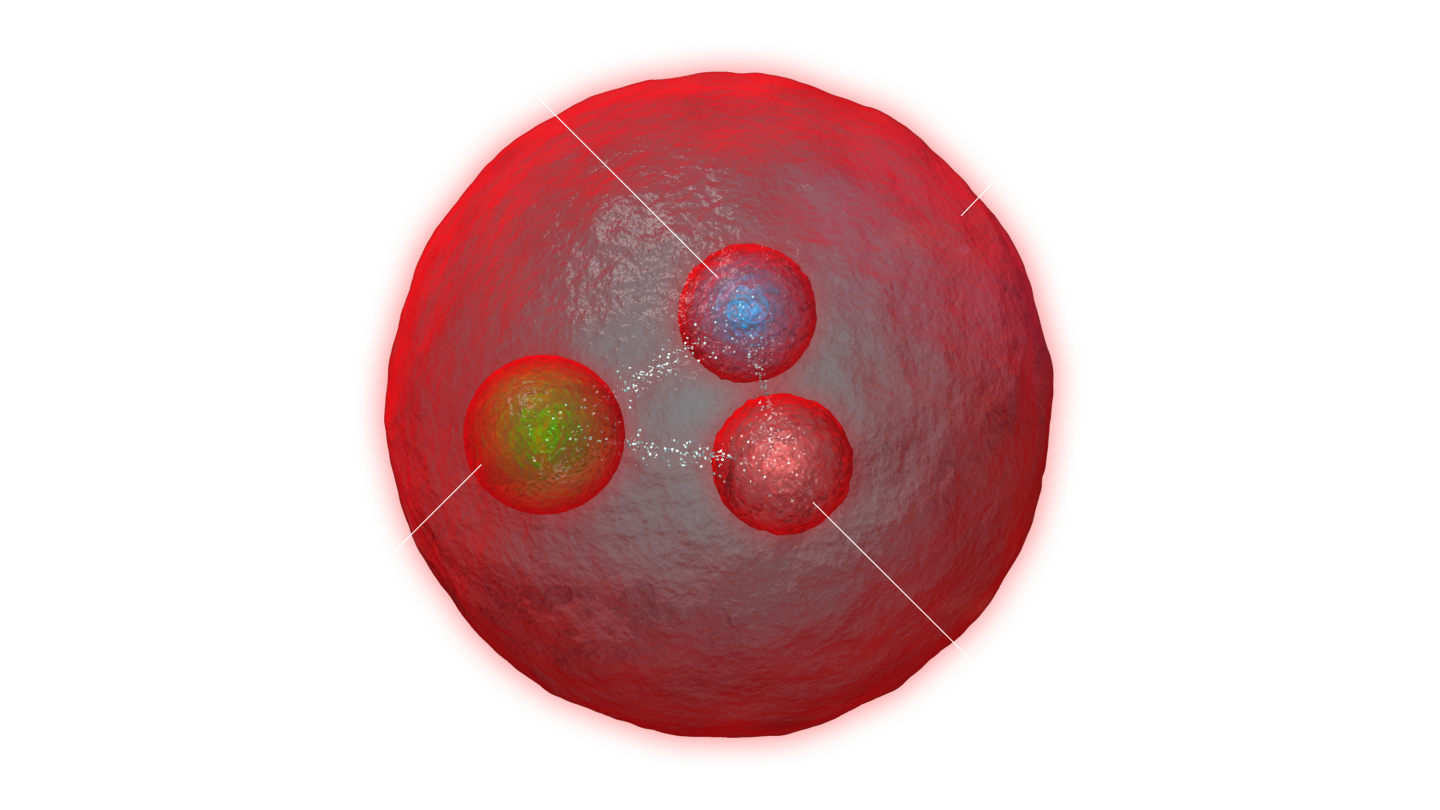 Representation of a doubly heavy-quark baryon