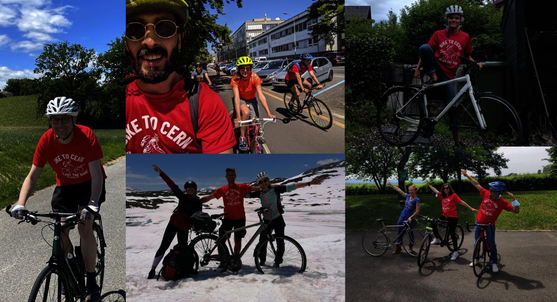Bike2Work 2021 : le CERN sur le podium !