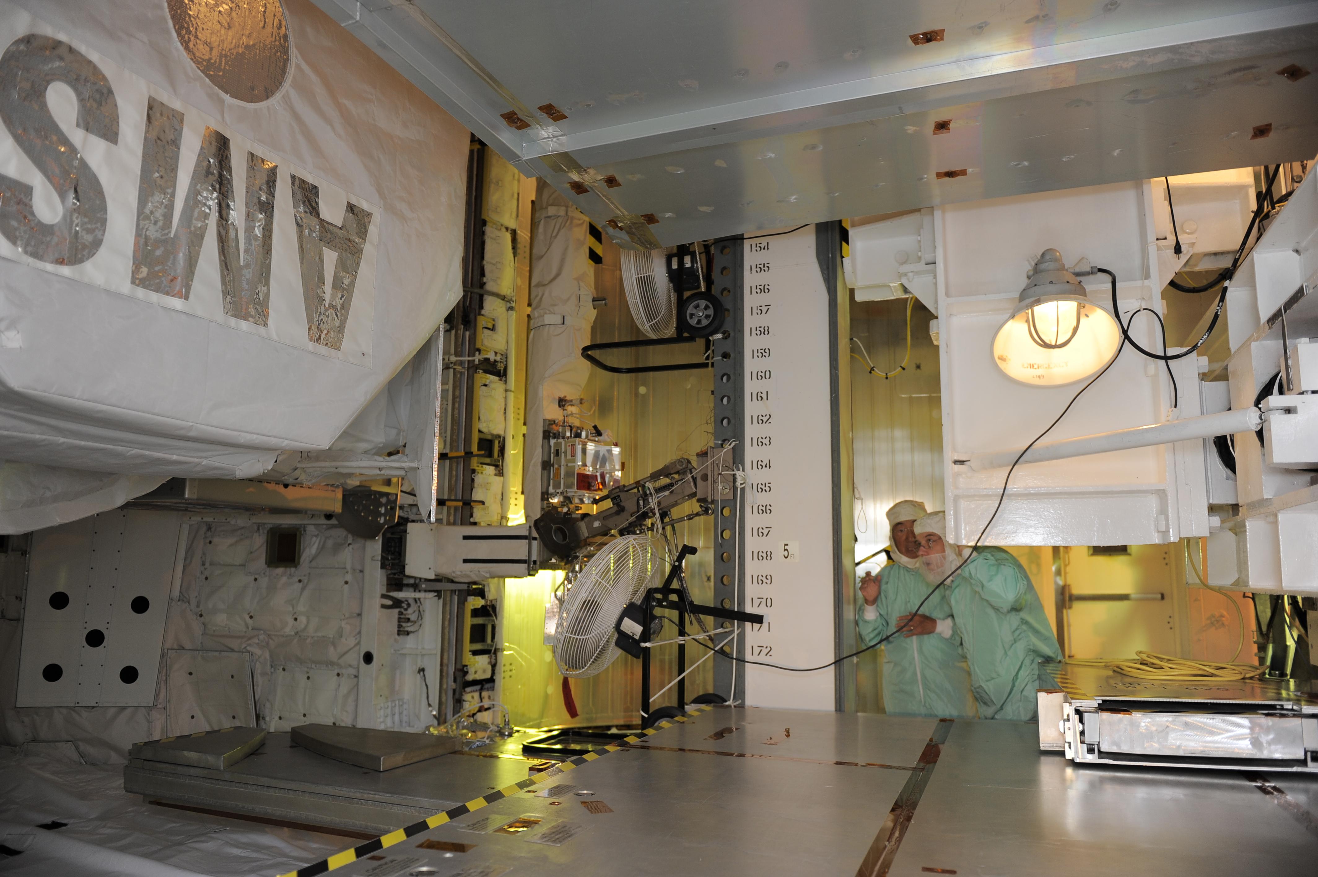 AMS ready for launch - CERN Bulletin