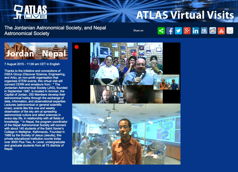ATLAS Virtual Visit