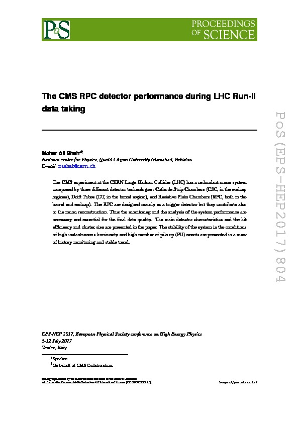 The CMS RPC detector performance during LHC Run-2 data