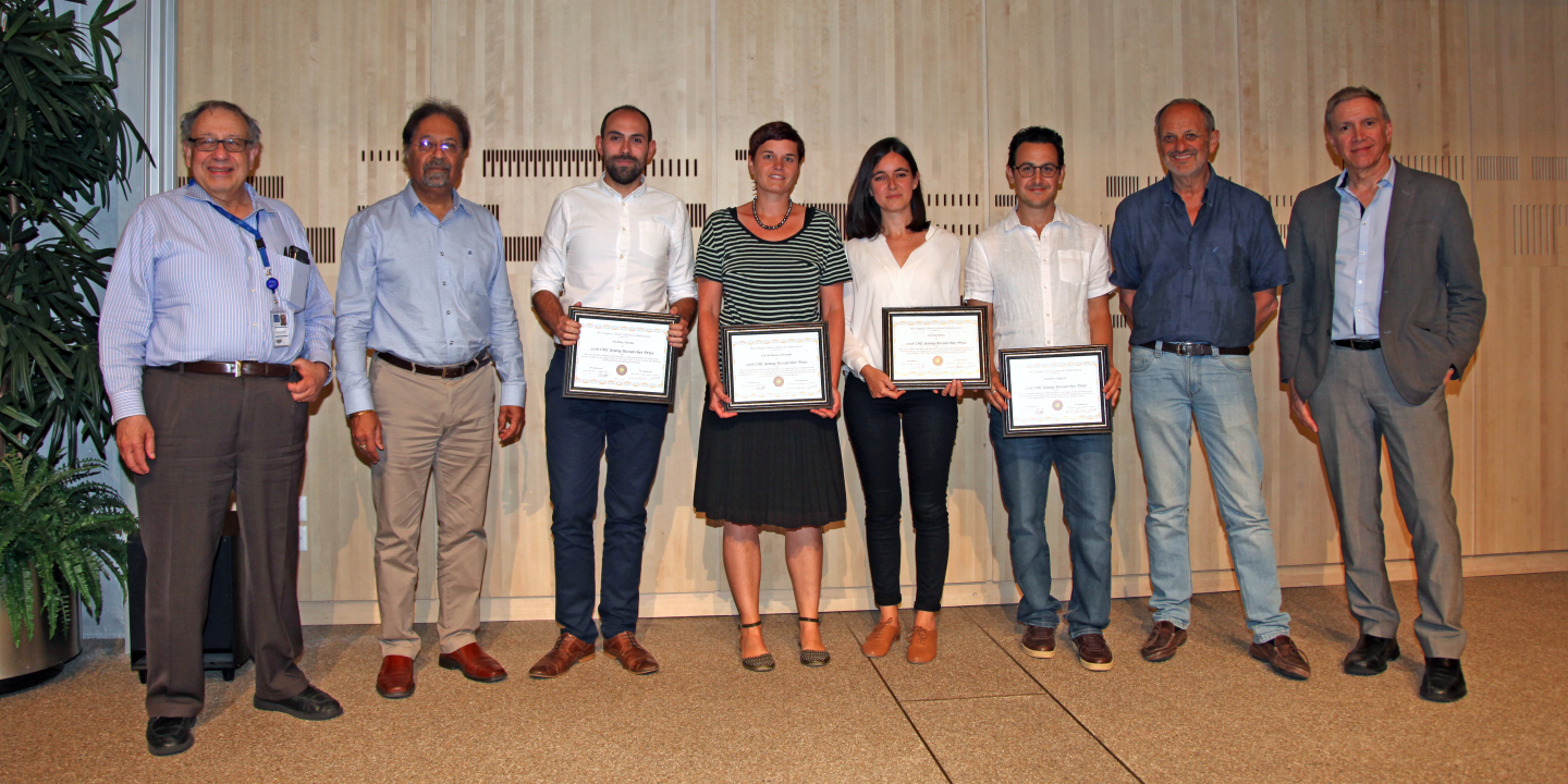 YOUNG RESEARCHER'S MEDALS AND PRIZES 2018