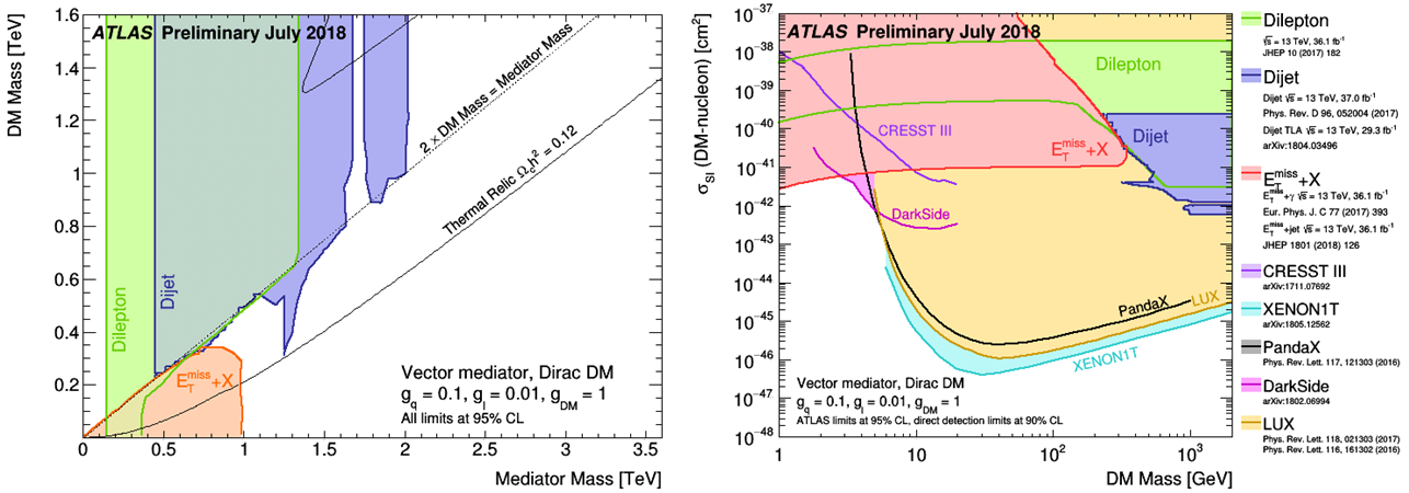 SEARCHES FOR DARK MATTER PARTICLES AT THE LHC - CERN