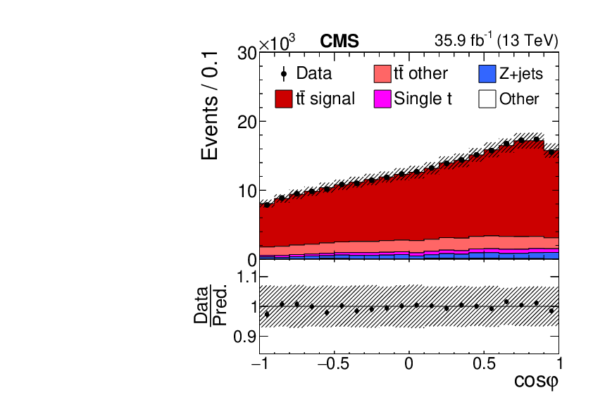 Measurement of the top quark polarization and $\mathrm{t\bar